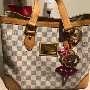 Louis Vuitton Damier Azur Hamstead PM